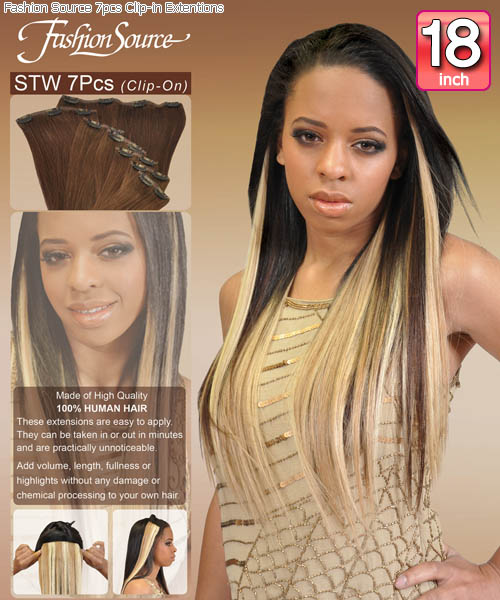 Fashion source stw18 clip in hair extension pmusecretfo Choice Image