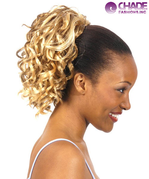 New Born Free Hair Piece - 245 DAISY Ponytail Draw String Hair Piece