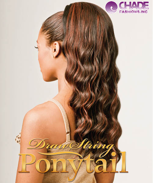 New Born Free Hair Piece - 325 MONICA Ponytail Draw String Hair Piece