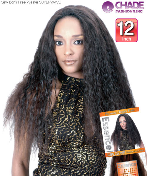 New Born Free - SUPERWAVE 12 Human Blend Weaving Hair