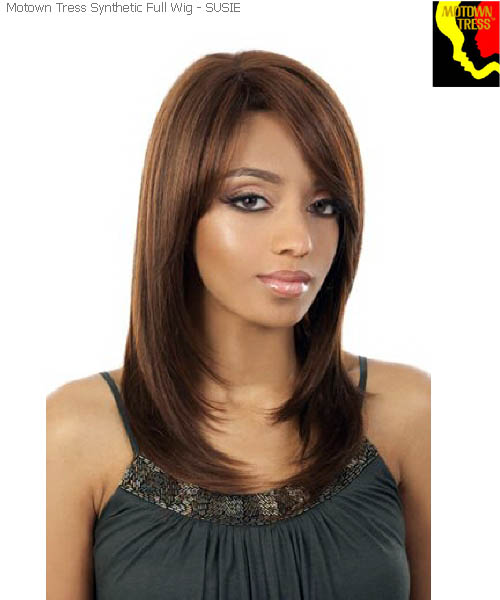 Motown Tress SUSIE  -  Futura Synthetic Motown Full Wig