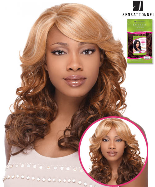 Sensationnel Empress Edge BEVERLY - Synthetic Lace Front Wig