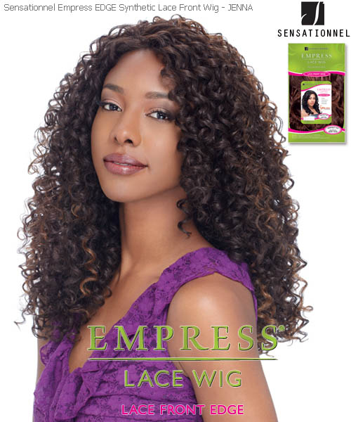 Sensationnel Empress Edge JENNA - Synthetic Lace Front Wig
