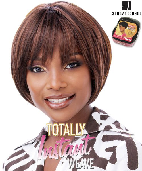 Sensationnel Totally Instant Weave A035 - Synthetic Full Wig