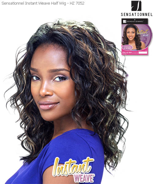 Sensationnel Instant Weave HZ7052 - Synthetic Half Wig