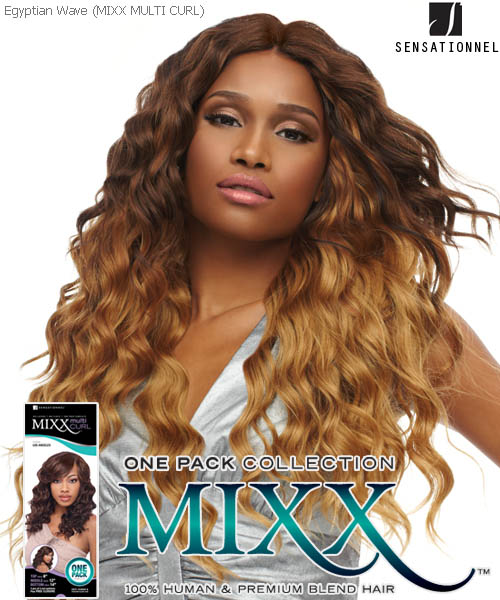 Sensationnel Mixx Multi Curl xLong EGYPTIAN WAVE - Human Blend Weave