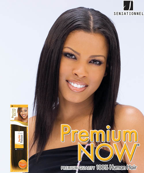 Sensationnel Premium Now Yaki Perm 10 Human Hair Weave