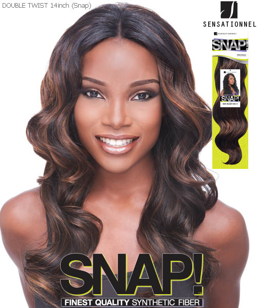 Sensationnel Snap DOUBLE TWIST 14 - Synthetic Weave