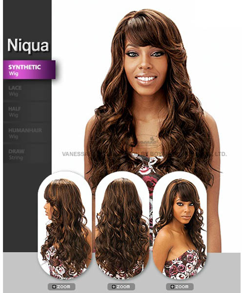 Vanessa Fifth Avenue Collection Synthetic Full Wig - NIQUA