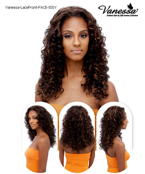 Vanessa Fifth Avenue Collection Synthetic Lace Front Wig - FACE ISSY