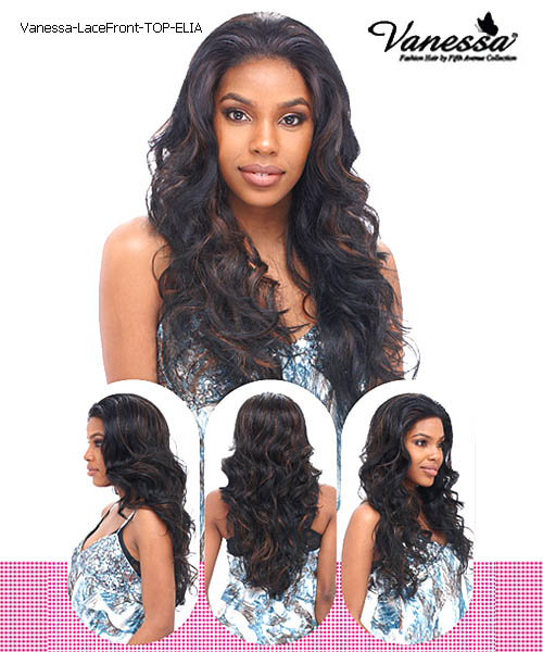 Vanessa Fifth Avenue Collection Synthetic Lace Front Wig - TOP ELIA