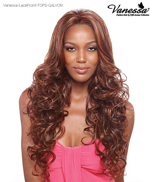 Vanessa Fifth Avenue Collection Futura Lace Front Wig - TOPS GALVON