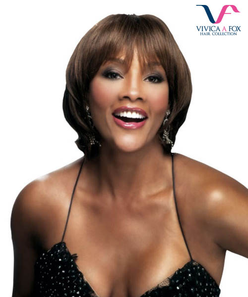 Vivica Fox Full Wig H203 - Human Hair Stretch Cap Full Wig