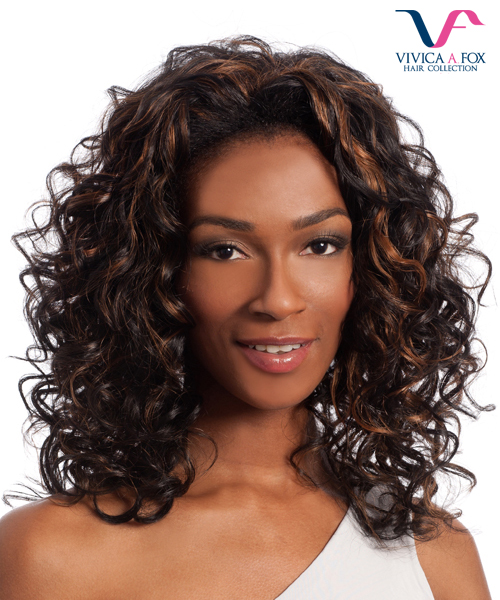 Vivica Fox Half Wig FHW-DEMI - Futura Synthetic Express Half Wig