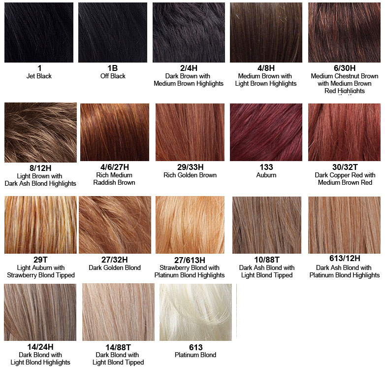 mimosa blond color list chart