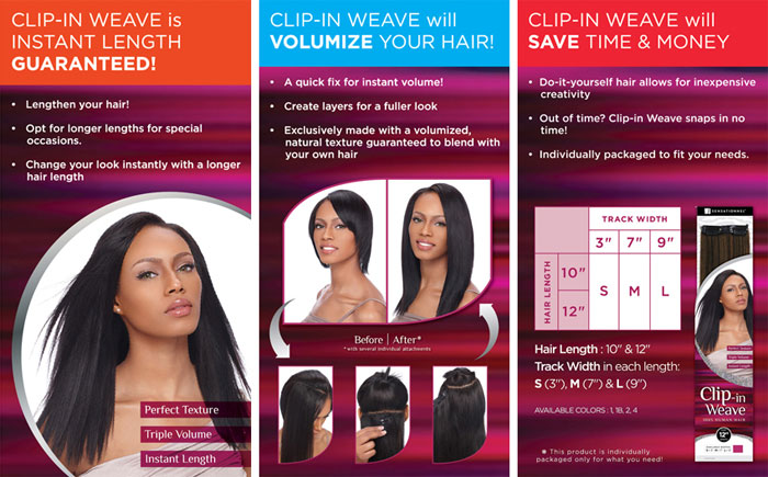 Sensationnel clip in weave yaki clip in 12 sensationnel color chart solutioingenieria Images