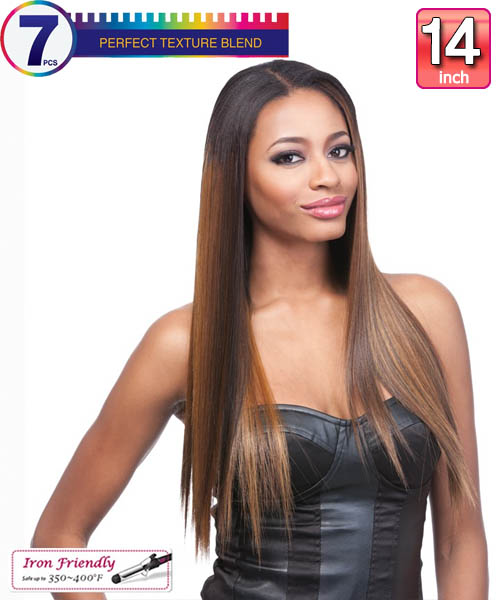 Clip in hair extensions its a wig futura synthetic clip in extension yaki st 14 pmusecretfo Gallery