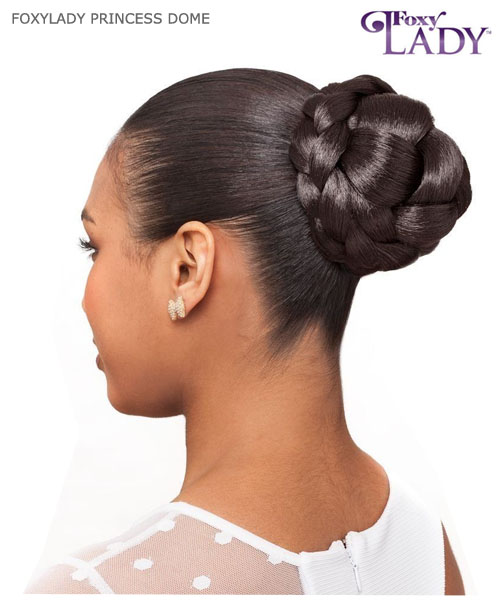 Hair dome bun pieses foxy lady hair piece princess dome synthetic hair piece pmusecretfo Images