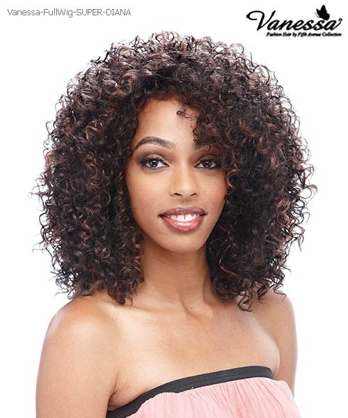 Vanessa Fifth Avenue Collection Futura Full Wig Super Diana