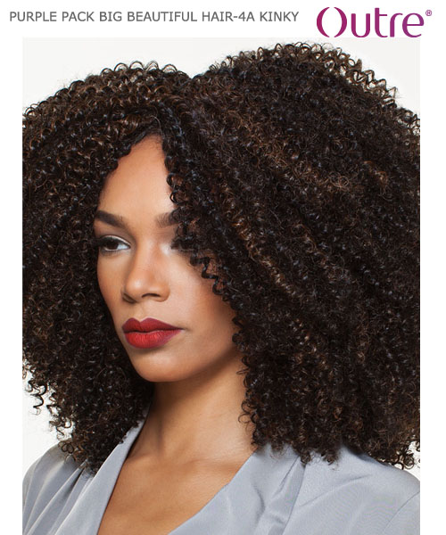 Outre purple pack big beautiful hair 4a kinky weave extension outre purple pack big beautiful hair 4a kinky 17 human hair weave extension pmusecretfo Gallery