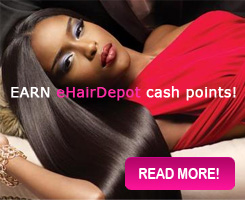 Earn eHairDepot Cash Points
