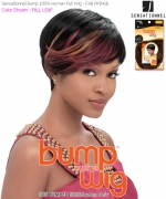 Human Bump Wig FAB FRINGE - Sensationnel Human Hair Full Wig