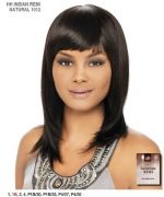 It's a wig Remi Human Full Wig - INDIAN 1012