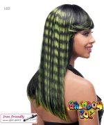 It's a wig Futura Synthetic Rainbow pop Full Wig - LEO