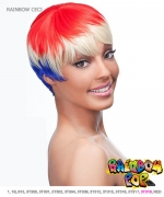 It's a wig Futura Synthetic Rainbow pop Full Wig - RAINBOW CECI