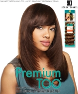 Premium Too YAKI PRO 12 - Sensationnel Human Blend Weave