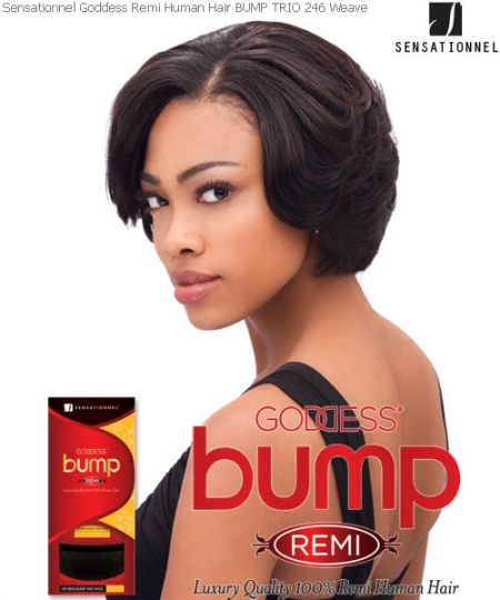 Goddess Bump REMI TRIO 246 - Sensationnel Remi Human Weave