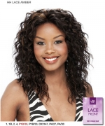 It's a wig 100% Human Lace Front Wig - LACE HH AMBER