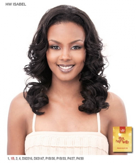 It's a wig Synthetic Half Wig - ISABEL