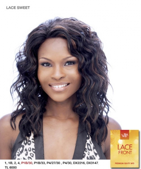 It's a wig Synthetic Lace Front Wig - LACE SWEET