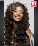 Bohyme Diamond  BEACH WAVE 18 - Remi Human Hair Weave