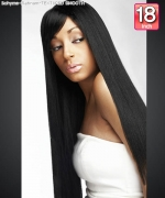 Bohyme Platinum  TEXTURED SMOOTH 18 - Remi Human Hair Weave