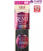 Idol Indian PERM YAKI 10s - New Born Free Remi Human Weaving Hairs