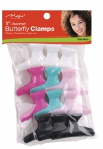 Magic Butterfly Clamps Assorted 3