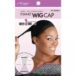 Magic Fishnet Wig Cap Liner Black