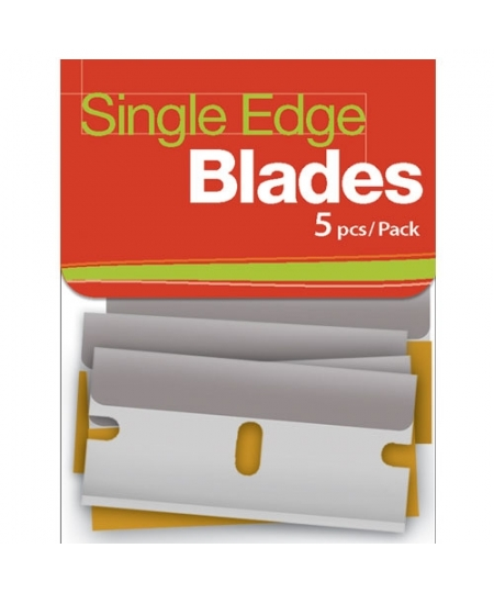 Magic Decoration Single Edge Blade 5PCS Pack