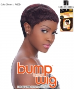 Bump Wig URBAN PIXIE - Sensationnel Human Hair Full Wig