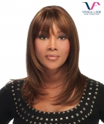 Vivica Fox Full Wig H201 - Human Hair Stretch Cap Full Wig