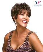 Vivica Fox Full Wig H205 - Human Hair Stretch Cap Full Wig