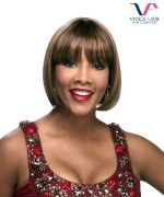 Vivica Fox Full Wig H280 - Human Hair Stretch Cap Full Wig