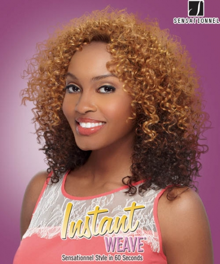 Instant Weave MILAN - Sensationnel Synthetic Half Wig