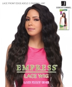 Sensationnel EMPRESS LACE FRONT EDGE(C Part) Synthetic Lace Front - LACE FRONT EDGE ADELE C PARTING-HRF