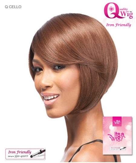 It's a wig Synthetic Quality Full Wig - Q CELLO