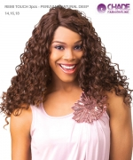 New Born Free Weave Extension - ER3D1 Remi Touch 3pcs - Peruvian Natural Deep 14+16+18+T Human Hair Blended Weave Extension