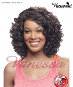 Vanessa Lace Front Wig HALY - Synthetic SUPER C-SIDE LACE PART Lace Front Wig