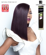 Sensationnel 100% HUMAN HAIR NEXT NATURAL PERM YAKI 10 - Human Hair Weave
